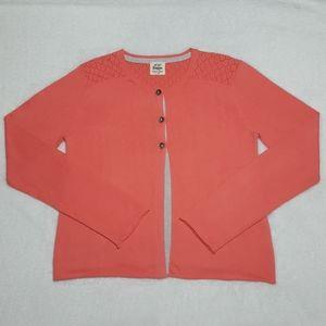 NEW Mini Boden girls' dressy knit cardigan